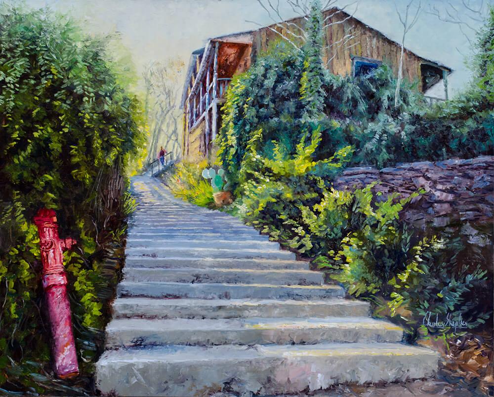 Enchanting Alley. 24x30. 5950