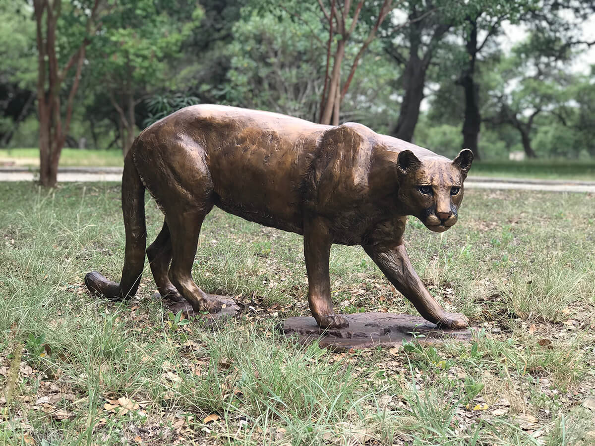 Life Size Mountain Lion Cougar 52 Inch