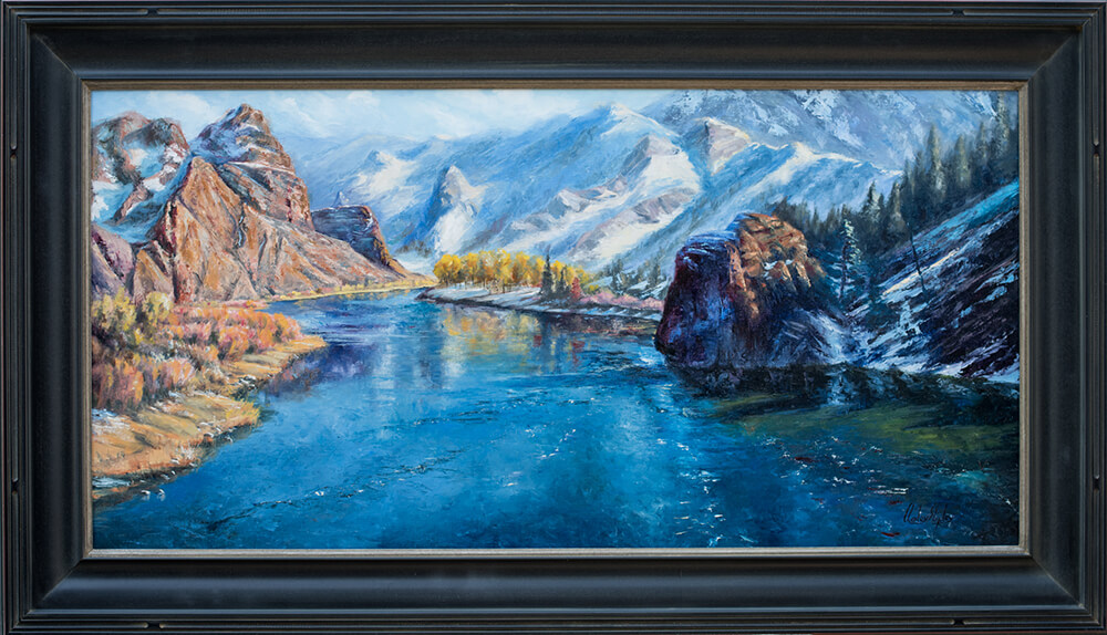 Out Of The High Country. 20x40. 6400