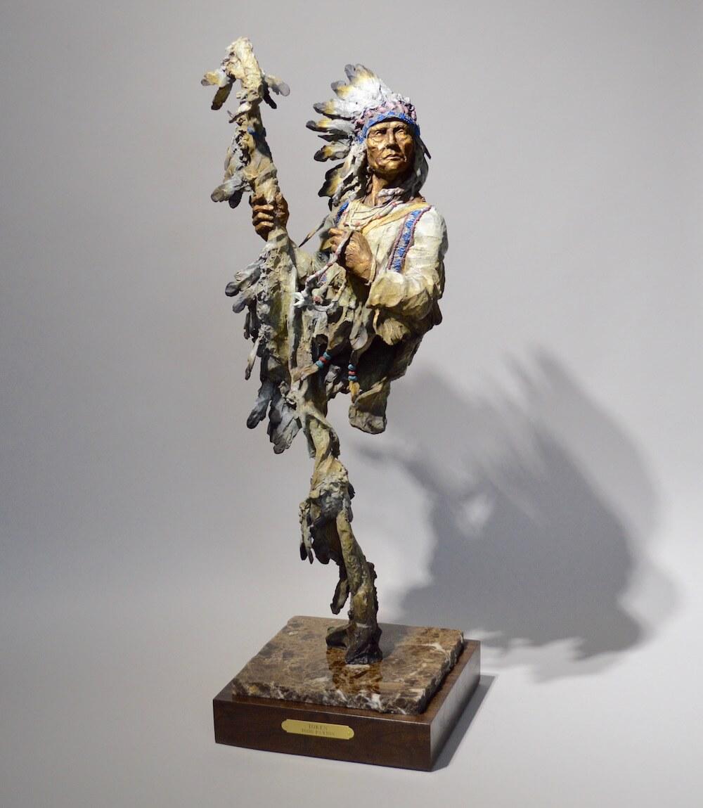 Token Sculpture 33x11x11 5900