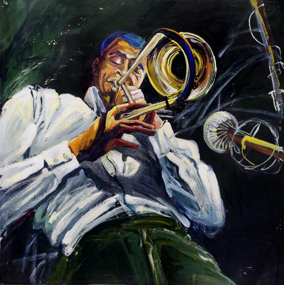 Smokin Trombone 1